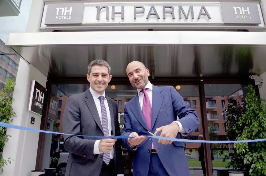 Inaugurazione NH Hotel Parma.